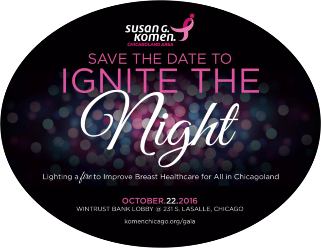 Save the date Ignite the Night