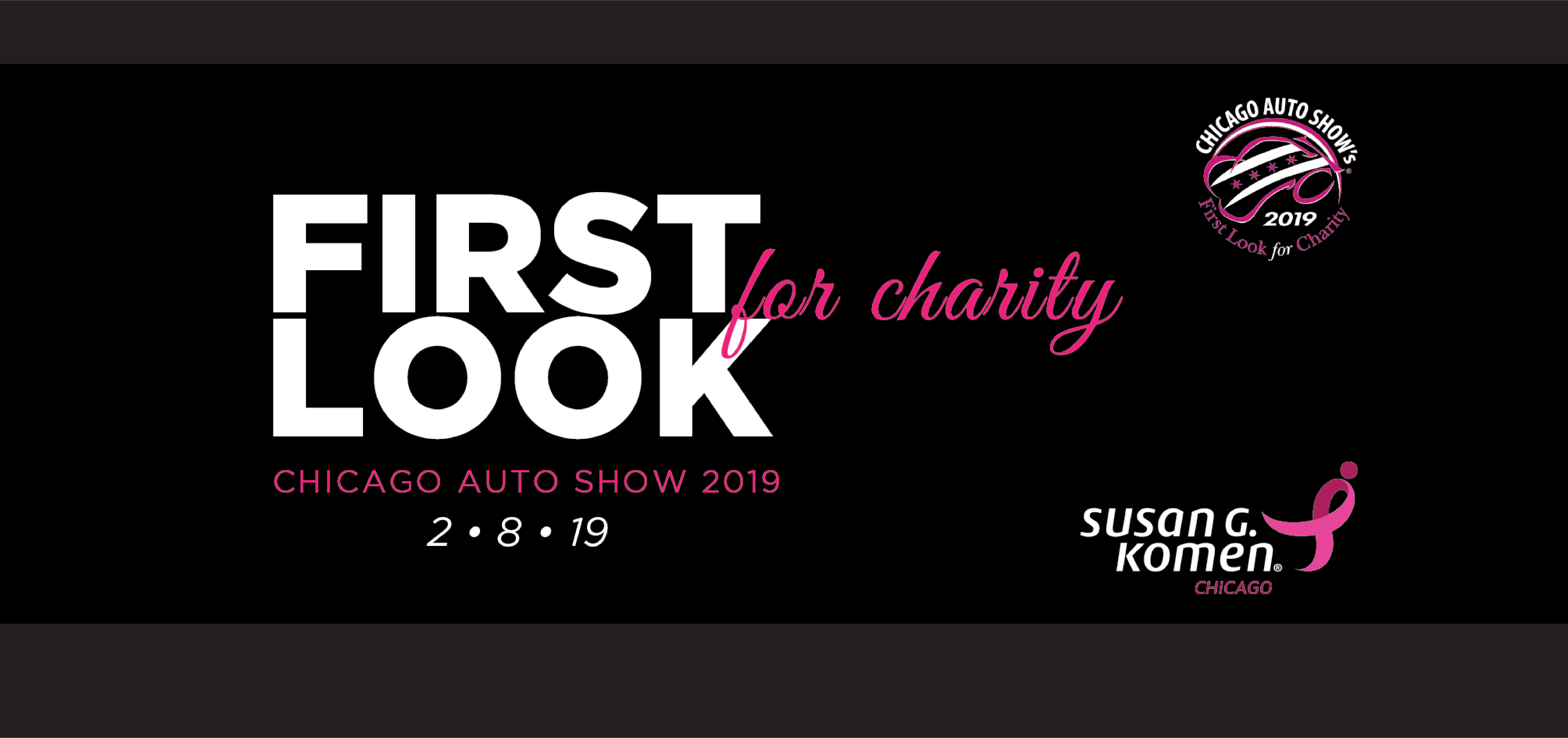 2019 First Look For Charity Chicago Auto Show Susan G Komen Chicago